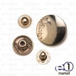 Кнопка декор 20мм, золото