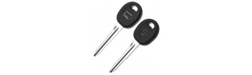 Заготовки автомобильных ключей