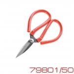 Ножницы прямые 50мм с канавкой (малые)