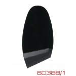 Профилактика формовая Mirror N3 цвет черный, Италия