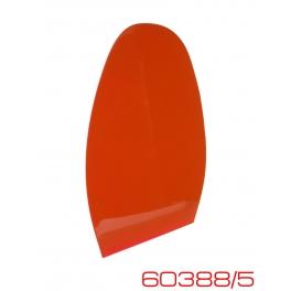 Профилактика формовая Mirror N3 цвет красный, Италия
